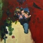 2011, Pink with Ivory, oil on canvas, 40x36 inches